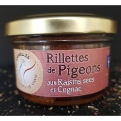 Rillettes de pigeons...