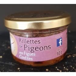 Rillettes de pigeons FIGUES...