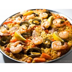 Paella de coquillages
