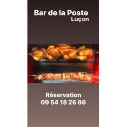 Poulet rôti à Luçon