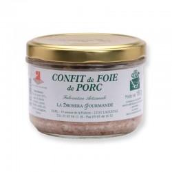 Confit de foie de porc 180g
