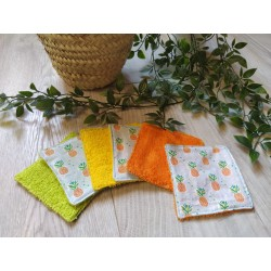 Lot de 6 lingettes lavables...